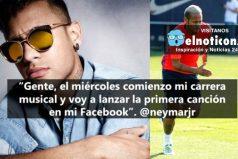 Neymar se vuelve cantante ¡Tranquilos que no dejará el fútbol!