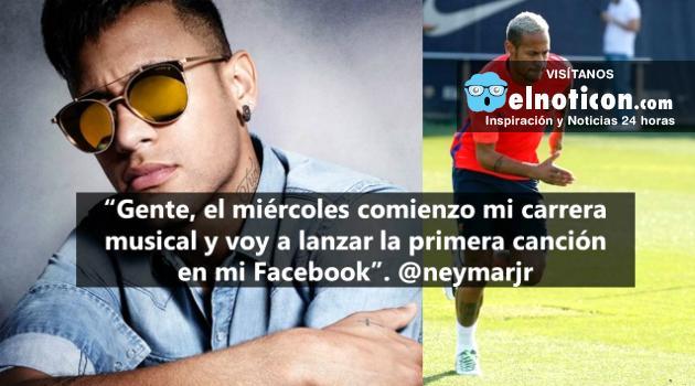 Neymar se vuelve cantante ¡Tranquilo que no dejará el fútbol!