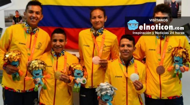 Colombia lleva 8 medallas en los juegos paralímpicos en Río 2016