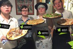 6 jóvenes con Síndrome de Down montaron su propio negocio de pizzas. En 2 meses, son todo un éxito
