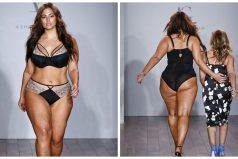 Conocida modelo plus-size sacó nueva colección de lencería y dejó a todos locos en el NY Fashion Week