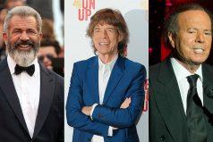 Famosos que han tenido hijos después de los 50: Mel Gibson, Julio Iglesias y más