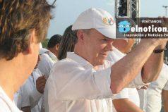 """""""Si el Eln libera a los secuestrados, la próxima semana podríamos iniciar la fase publica de negociaciones"""": Santos"""