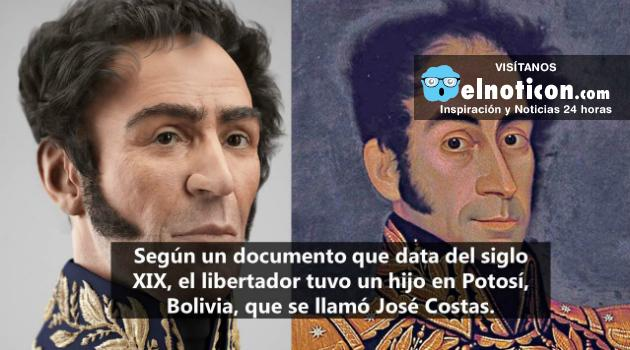 El libertador Simón Bolívar habría tenido un hijo en Bolivia