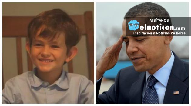 La tierna carta de un nino que conmovió a Barack Obama