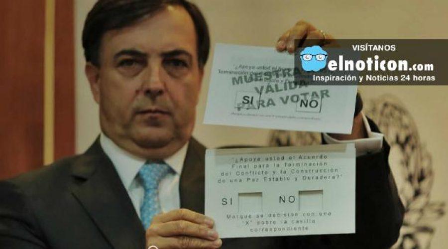 Las 3 noticias de hoy: listo el tarjetón del plebiscito. Colombianos en el exterior pueden votar y miembros de las Farc tienen nuevas cédulas