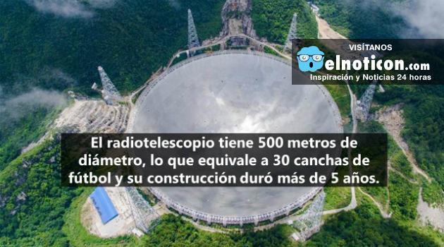 China tiene el telescopio más grande del mundo para buscar vida en otros planetas