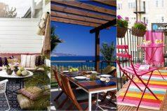 10 hermosas ideas para decorar tu terraza o balcón ¡Para todos los gustos!