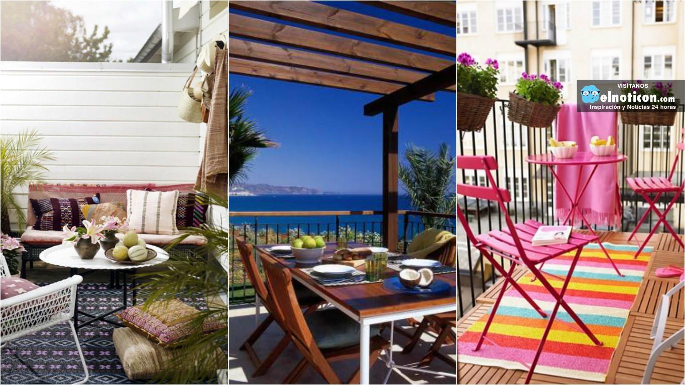 10 hermosas ideas para decorar tu terraza o balc n para - Ideas para decorar una terraza ...
