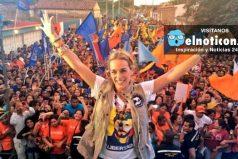 Lilian Tintori denuncia a Nicolás Maduro ante la Corte Penal Internacional