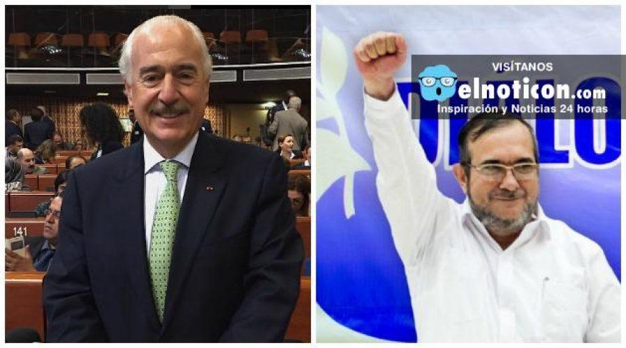 'Timochenko' ya está en Colombia y Andrés Pastrana solicita mediación del Gobierno para reunirse con él