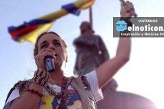 Lilian Tintori hace un llamado a una desobediencia civil en paz