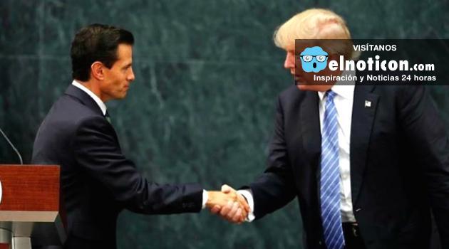 Tras su visita a México Trump insiste en la construcción del muro