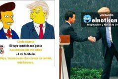Estos fueron algunos 'memes' que dejó la visita de Trump a México