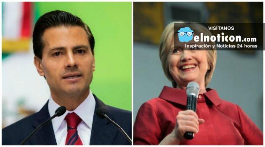 México: Hillary Clinton rechaza invitación del presidente Enrique Peña Nieto