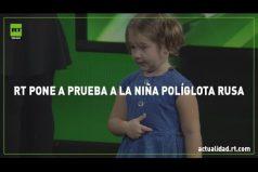 Quedarás sin palabras al ver a esta niña de 4 años hablando 7 idiomas ¡Es increíble!