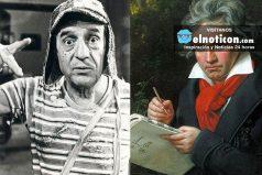 El chavo del 8 y Beethoven tienen un secreto en común ; ¡grandes de grandes!