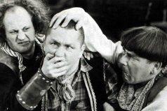 ¿Recuerdas a Los tres chiflados? el homenaje que te aguará el ojo