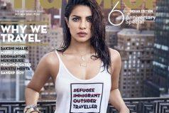 """La actriz que tuvo que disculparse por usar una camiseta """"insensible"""" con los refugiados"""