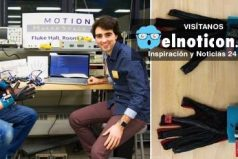 Dos estudiantes inventan guantes que traducen lenguaje de señas