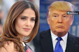 La opinión de Salma Hayek sobre Donald Trump ¡tiene la razón!