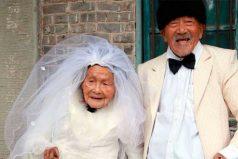Abuelitos recién casados, ¡el amor no tiene edad!