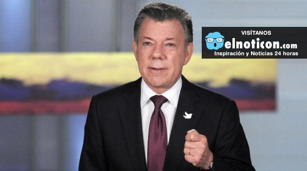 Santos anuncia que recibirá propuestas del No hasta el día de mañana