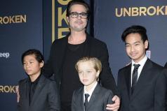 Brad Pitt se reencuentra con sus hijos después de cinco semanas sin verlos