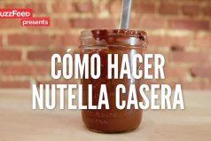 ¿Te gusta la Nutella? Mira cómo hacerla en casa ¡Me encanta!