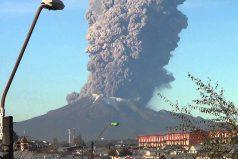 Mira la impresionante erupción del volcán Calbuco ¡Un increíble fenómeno!