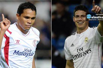 James y Bacca entre los 100 mejores futbolistas del mundo ¡orgullo colombiano!
