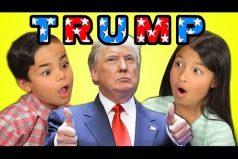 Mira lo que piensan estos niños sobre Donald Trump ¡Ellos siempre dicen la verdad!