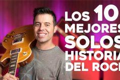 ¿Te gusta el rock? Escucha los 10 mejores solos de guitarra eléctrica ¡Espectacular!