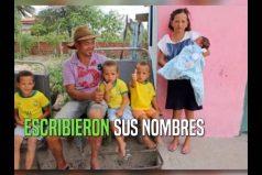 Esta pareja tiene 13 hijos varones y sueñan con ser padres de una niña ¡Una familia muy grande!
