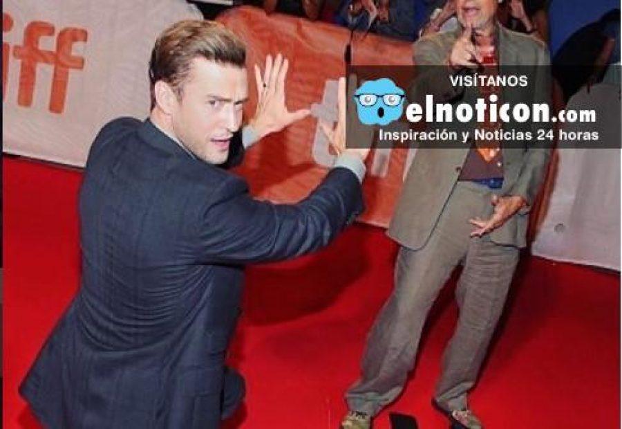Una selfie puso en aprietos a Justin Timberlake ¡creemos en su buena intención!