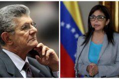 Henry Ramos Allup, presidente de la Asamblea Nacional de Venezuela fue denunciado ante la Fiscalía