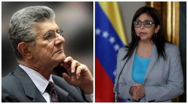 enry Ramos Allup, presidente de la Asamblea Nacional de Venezuela fue denunciado ante la Fiscalía