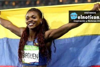 Caterine Ibargüen y su bello mensaje de agradecimiento a toda Colombia