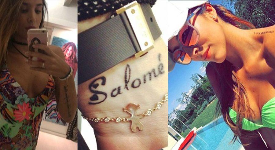 Los tatuajes de Daniela Ospina
