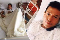 Humorista de Sábado Felices sale con éxito de su cirugía