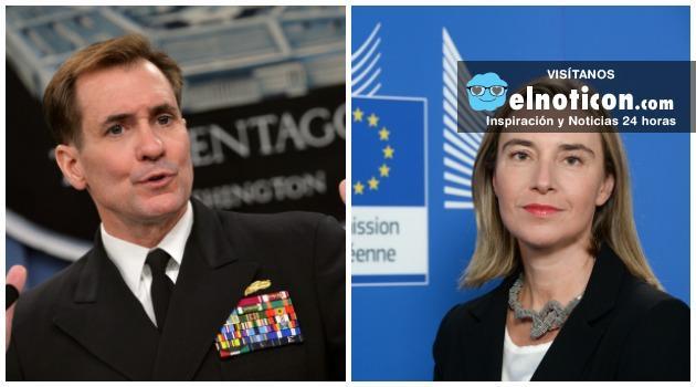 Estados Unidos y la Unión Europea reiteran respaldo a Colombia en proceso de paz
