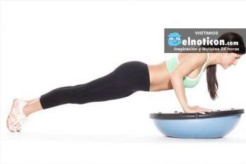 ¡Entrena de manera saludable!