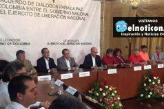 El 27 de octubre se iniciará la fase pública de los diálogos de paz entre el Gobierno y el ELN