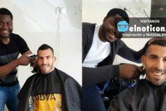 El colombiano que es el peluquero de los jugadores de Boca Juniors ¡Un gran talento!