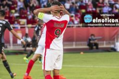 Médicos dan parte positivo de Falcao pero no jugará mañana con el Mónaco