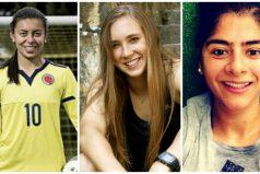 Yoreli Rincón, Nicole Regnier y Catalina Usme 'Las Chicas Superpoderosas' jugarán en la Liga Femenina de Colombia