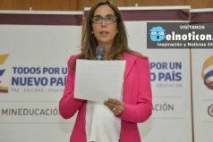 Gina Parody renunció al Ministerio de Educación