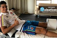 James Rodríguez no se recuperó y no podrá jugar ante Uruguay ¡Que mala noticia!