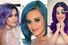 Katy Perry y sus sorprendentes looks ¡Ha tenido el cabello de muchos colores y con todos se ve hermosa!