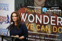 """En medio de polémicas """"La Mujer Maravilla"""" fue nombrada como embajadora de la ONU"""